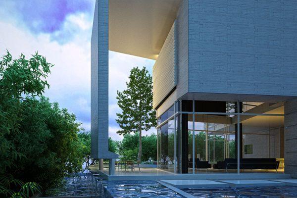akl architects - baabdat- naaman villa (2)