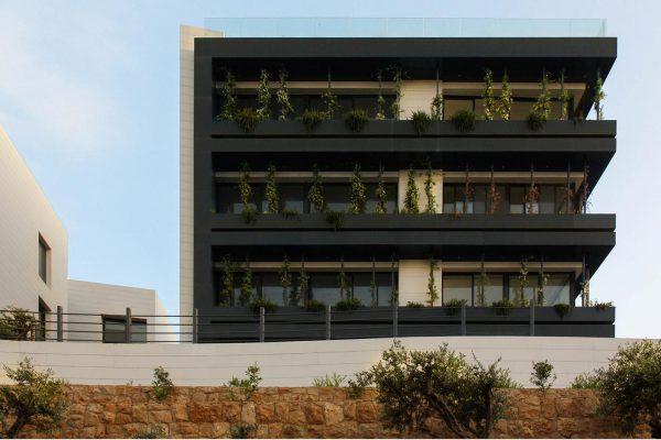 akl architects- bk93- residential compound- zard bkennaya lebanon 1