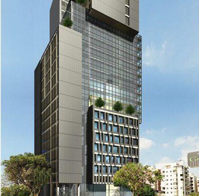 akl architects- high rise multi use project- zalka - lebanon (2)