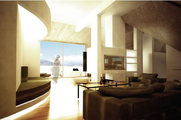 akl architects- interior design attic - labaki lebanon (1)