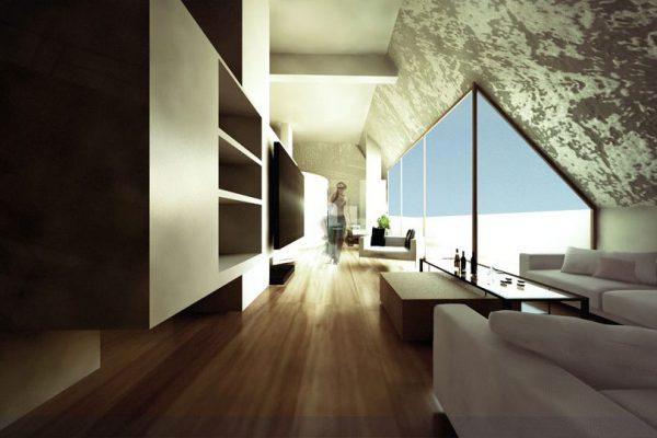 akl architects- interior design attic - labaki lebanon (3)
