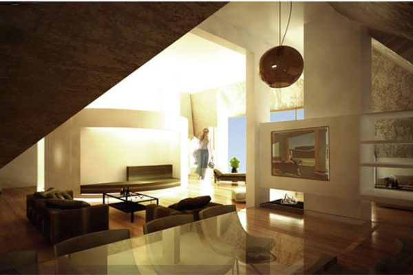 akl architects- interior design attic - labaki lebanon (5)
