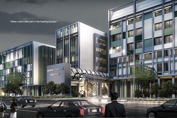 akl architects - mount lebaon hospital competition