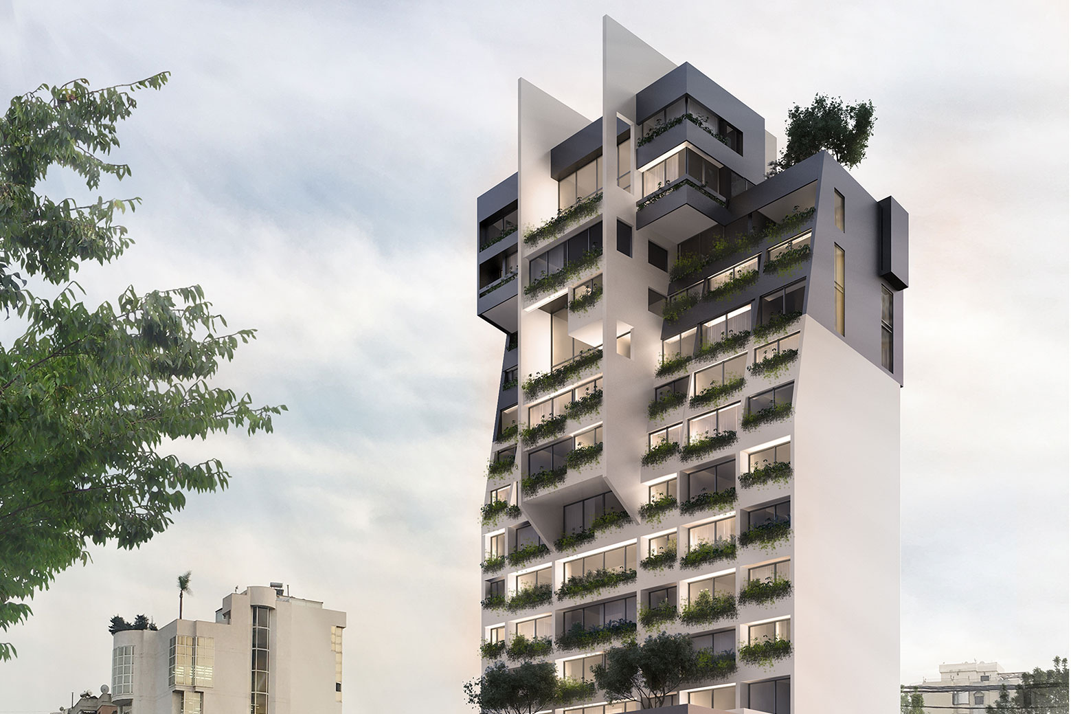 A RESIDENTIAL BUILDING – ZALKA – LEBANON