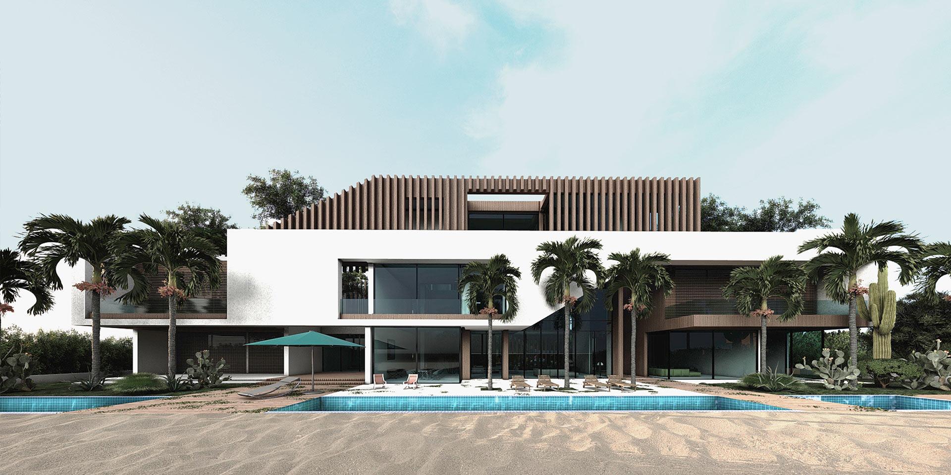 D BEACH HOUSE – DOHA – QATAR