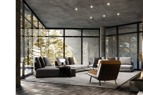 akl architects - villa shhour lebanon- residential