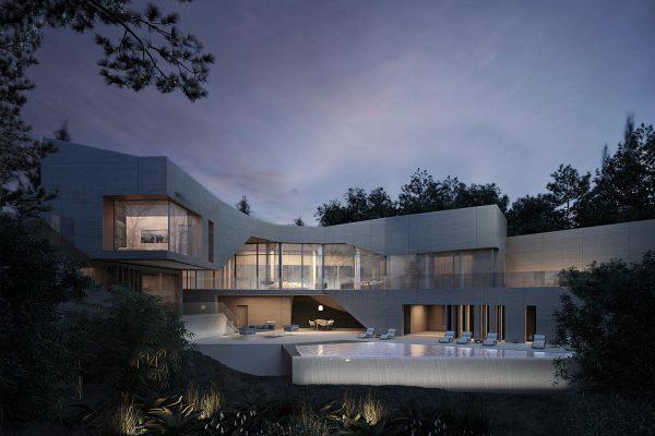 akl architects- villa soumrani integrated