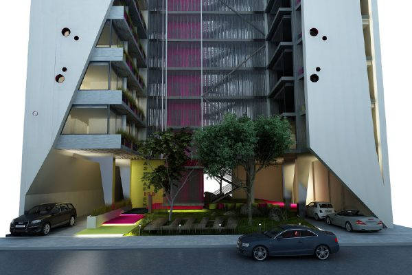 akl architects - w residential building - beirut lebanon (1)