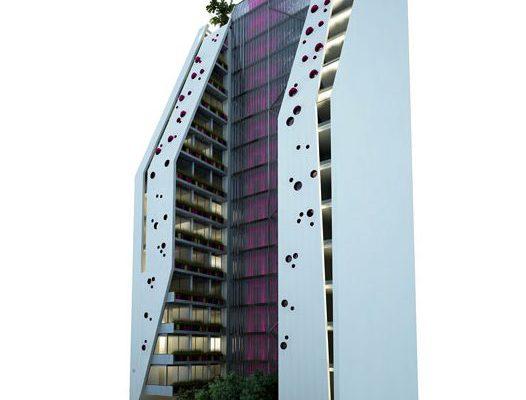 akl architects - w residential building - beirut lebanon (2)