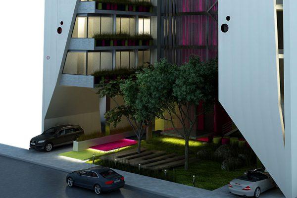 akl architects - w residential building - beirut lebanon (3)