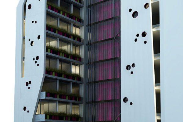 akl architects - w residential building - beirut lebanon (4)