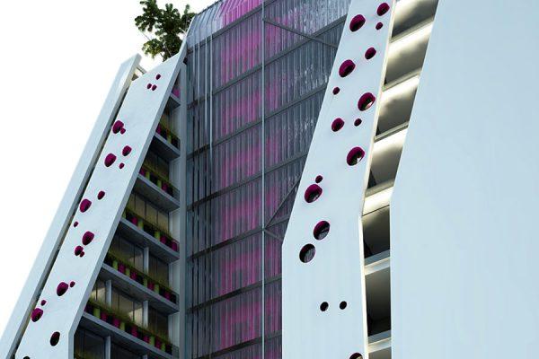 akl architects - w residential building - beirut lebanon (5)