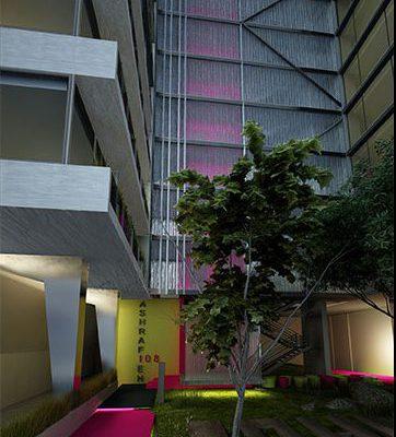 akl architects - w residential building - beirut lebanon (7)