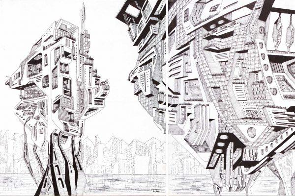 akl architects- walking cities 1