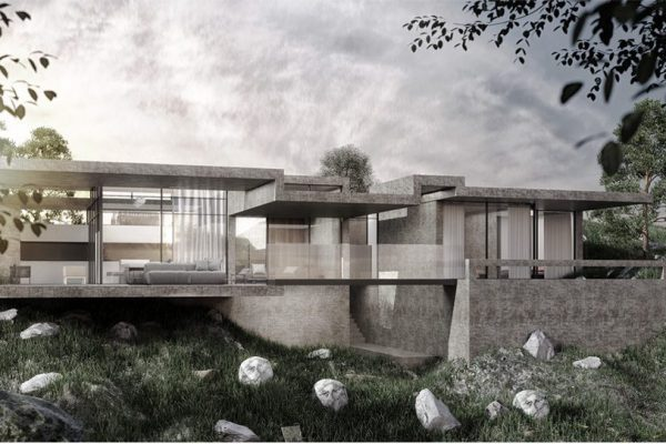 akl architects - zaarour concrete villa (1)