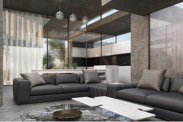 akl architects - zaarour concrete villa (2)