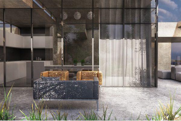 akl architects - zaarour concrete villa (3)