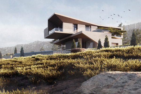 akl architects - zaarour villa spring 1