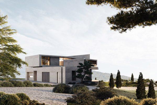 akl architects - zaarour villa spring 2