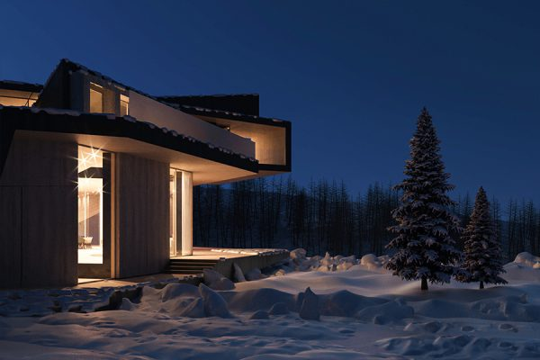 akl architects - zaarour villa winter lebanon 10