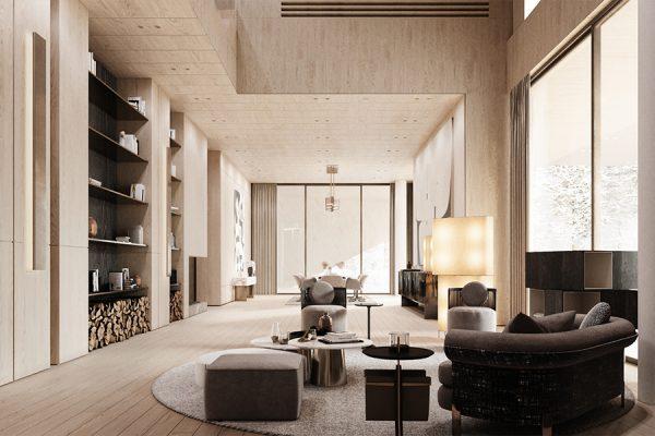 akl architects - zaarour villa winter lebanon 14