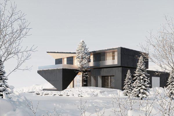 akl architects - zaarour villa winter lebanon 15