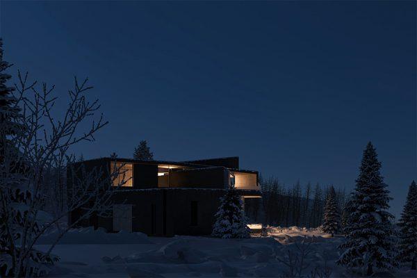 akl architects - zaarour villa winter lebanon 16