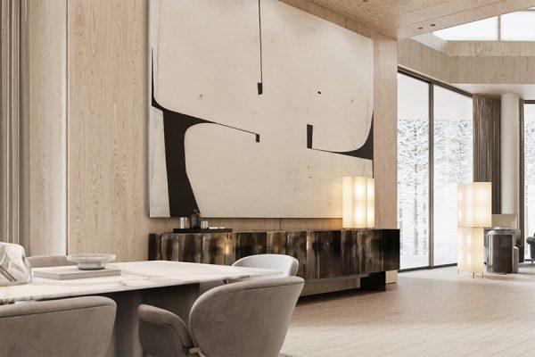 akl architects - zaarour villa winter lebanon 3