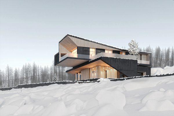 akl architects - zaarour villa winter lebanon 4