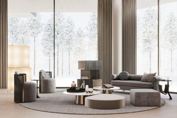 akl architects - zaarour villa winter lebanon 5