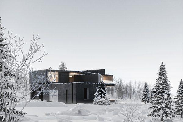 akl architects - zaarour villa winter lebanon 8