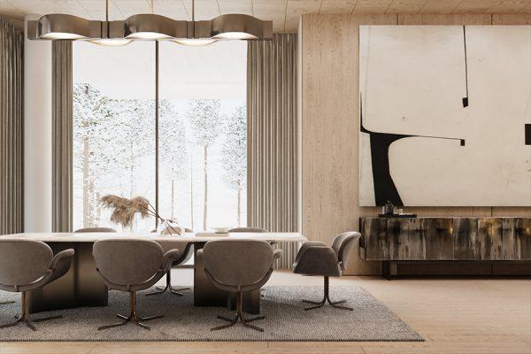 akl architects - zaarour villa winter lebanon 9