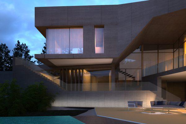 AKL ARCHITECTS - ABDELLE VILLA- S VILLA - LEBANON (2)