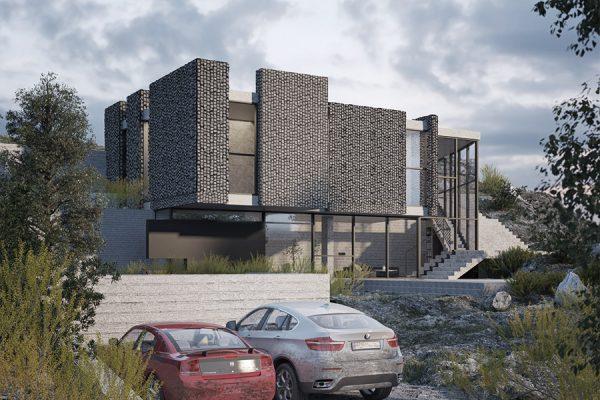 AKL ARCHITECTS - AC HOUSE - MROUJ - OPTION 2 - LEBANON (1)
