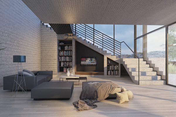 AKL ARCHITECTS - AC HOUSE - MROUJ - OPTION 2 - LEBANON (2)
