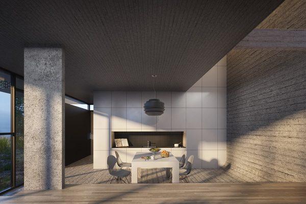 AKL ARCHITECTS - AC HOUSE - MROUJ - OPTION 2 - LEBANON (3)