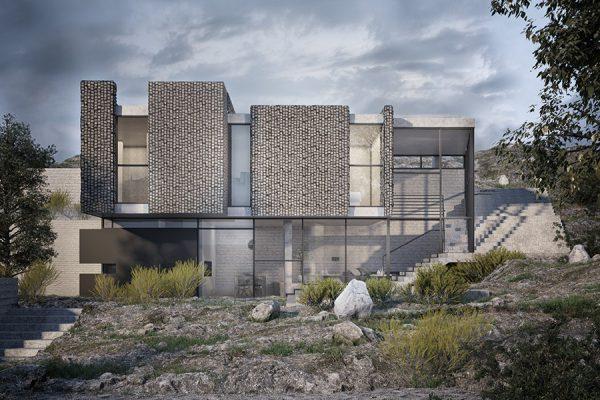 AKL ARCHITECTS - AC HOUSE - MROUJ - OPTION 2 - LEBANON (4)
