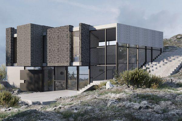 AKL ARCHITECTS - AC HOUSE - MROUJ - OPTION 2 - LEBANON (5)