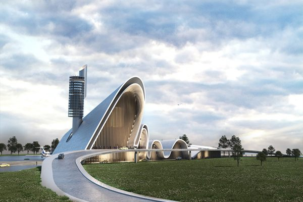 AKL ARCHITECTS - AIRPORT COMPETITION - DAMASCUS - SYRIA (1)