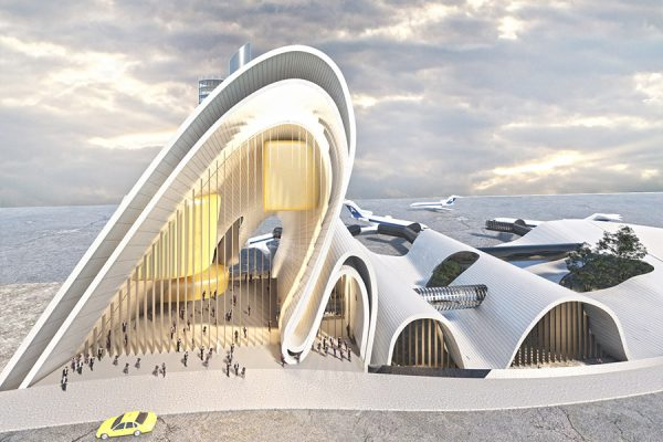 AKL ARCHITECTS - AIRPORT COMPETITION - DAMASCUS - SYRIA (2)