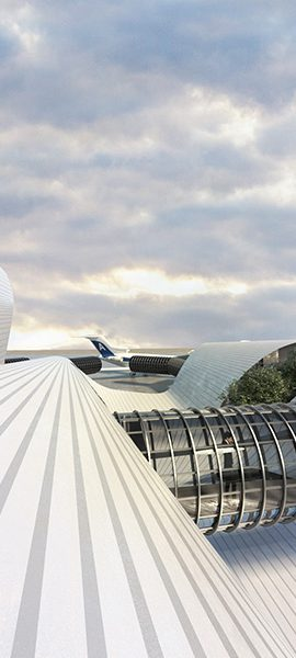 DAMASCUS AIRPORT EXTENSION COMPETITION – DAMASCUS – SYRIA