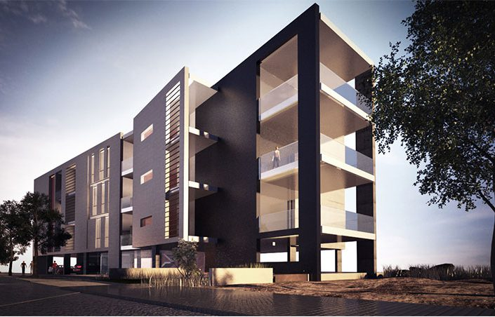 BA RESIDENTAL BUILDING - NACCACHE - LEBANON