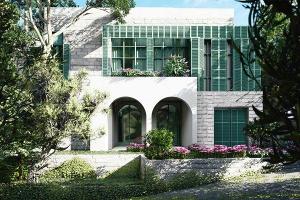 AKL ARCHITECTS - BAABDAT VILLA - OPTION D (1)