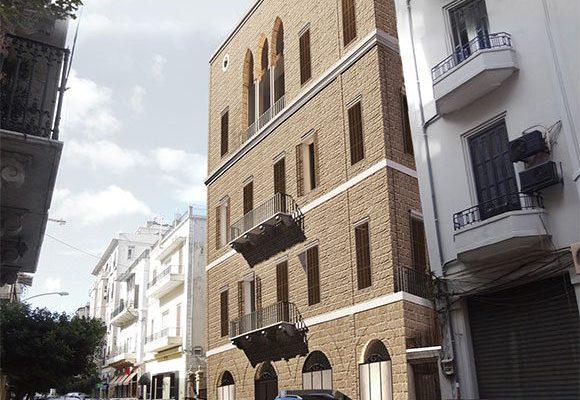 AKL ARCHITECTS - C HOTEL PARTICULER - PRIVATE RESIDENCE - RESTAURATION - BEIRUT GOURAUD STREET - LEBANON (2)