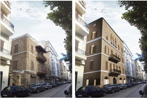 AKL ARCHITECTS - C HOTEL PARTICULER - PRIVATE RESIDENCE - RESTAURATION - BEIRUT GOURAUD STREET - LEBANON (3)