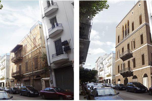 AKL ARCHITECTS - C HOTEL PARTICULER - PRIVATE RESIDENCE - RESTAURATION - BEIRUT GOURAUD STREET - LEBANON (4)