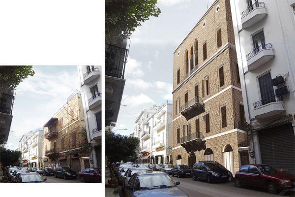 AKL ARCHITECTS - C HOTEL PARTICULER - PRIVATE RESIDENCE - RESTAURATION - BEIRUT GOURAUD STREET - LEBANON (7)