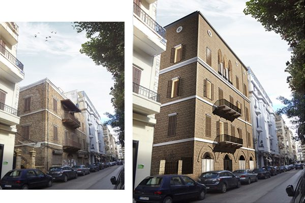 AKL ARCHITECTS - C HOTEL PARTICULER - PRIVATE RESIDENCE - RESTAURATION - BEIRUT GOURAUD STREET - LEBANON (8)