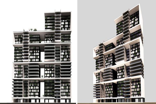 AKL ARCHITECTS- COMPETITION CARLTON RESIDENTIAL BUILDING - BEIRUT - LEBANON