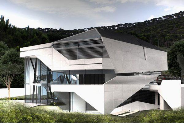 AKL ARCHITECTS- D VILLA - MONTEVERDE - LEBANON (3)